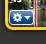 Før musen hen over billedet i iMovie og den lille blå trekant fremkommer